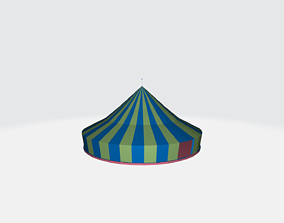 Circus Tent architectural 3D model