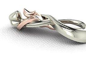 jewelry design necklace 3D print model