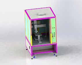 Five-axis Circuit Board Dispenser 3D model