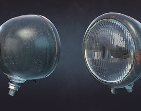Searchlight FG-16E 3D asset
