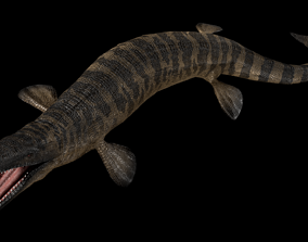 Tylosaurus Asset Pack 3D model animated