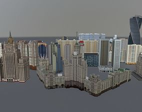 Moscow High Rise Pack 3D model