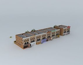Brooklyn Street (With Apartments) 3D model