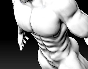 Simple - Muscular Male Model - Free
