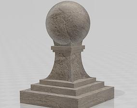 3D print model Baluster ball finial