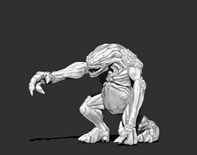 Troll 3D print model - 61 mm demon