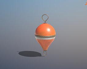 Mooring Buoy 3D model VR / AR ready