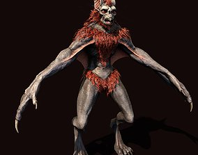 Vampire 3D model low-poly