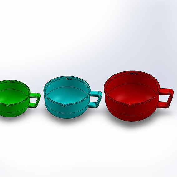 measuring cup or measuring jug