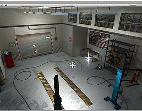Garage Building Unity 3D asset