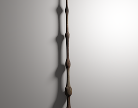 The elder wand 3D animated