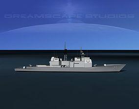 USS Vella Gulf CG-72 LP 3D asset