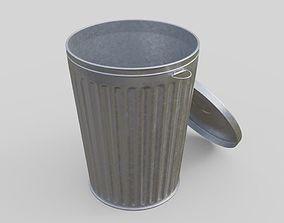 3D model Dustbin 3 Textured