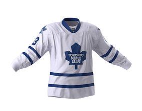 Hockey Jersey Toronto Maple Leafs 3D model