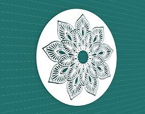 Mandala 3D model cnc 3dotworks flower