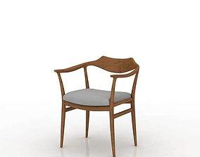 3D model furniture Furniture Wooden Chair