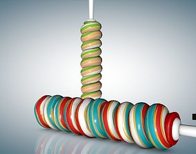 Twisted Lollipop 3D model