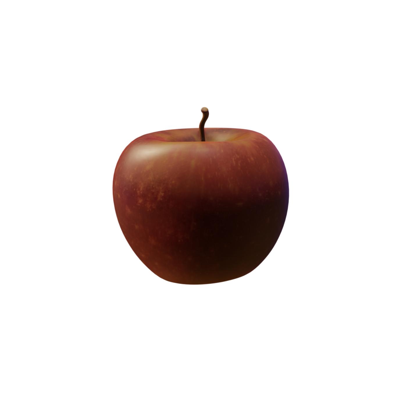 Apple (blender 2.8) for sale!