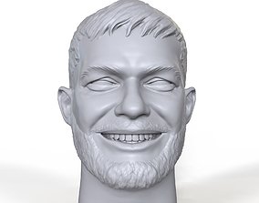 Finn Balor 3D printable portrait sculpt