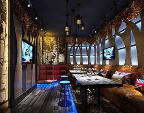 Disco bar KTV Entertainment Night club Stage A048 3D