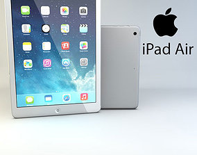 Apple iPad Air computer 3D