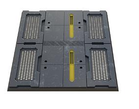 3D model Sici fi Panel PBR Material sbs sbsar