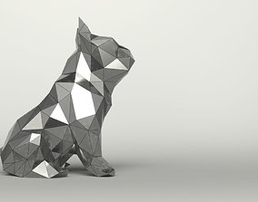 Mirror Dog Decor 3D model