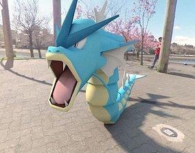 Pokemon Gyarados 3D model