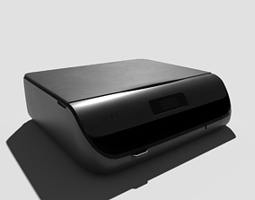 Laser Printer 3D model PBR
