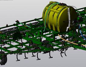 Cultivator AK-97 3D model