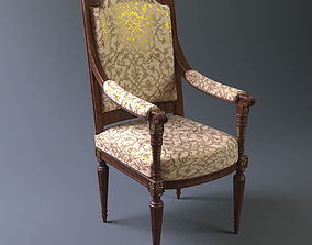 Royal Chair 3D asset