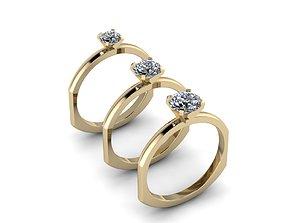 3D printable model Jewelry Rings NINE RINGS