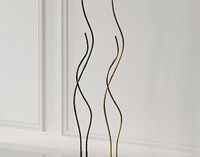 Tyrol Novelty Floor Lamp 3D model