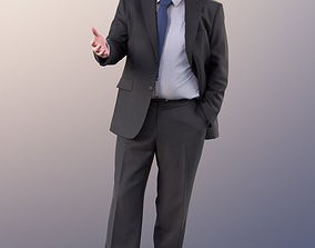 3D model 11333 Phil - Old businessman standing 3