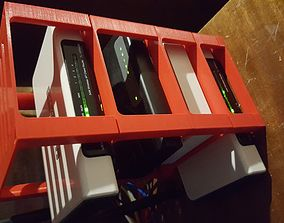 Stackable tray 3D print model