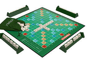 3D Scrabble Game