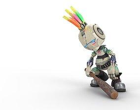 3D asset Robo Punk