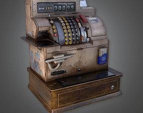 3D model DVB - Cash Register - PBR Game Ready