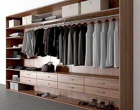 pant 3D model wardrobe Poliform