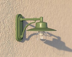 vienna public wall lamp 3D model