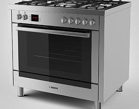 3D Bosch Range Cooker