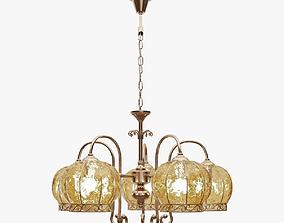Chandelier hanging Arte Lamp 3D model