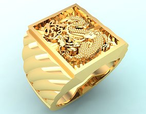 3D print model Ring of god of wealth - Ring of blessing 2