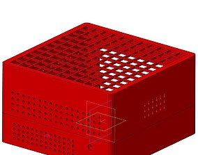 Mini-itx pc case 3D print model