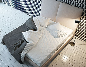 3D Maxalto DEMETRA Bed
