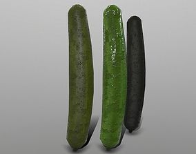 Cucumber 3D asset VR / AR ready