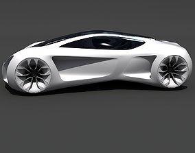 3D model Mercedes Benz Biome Concept Car