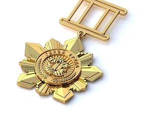 3D printable model Golden Medallion