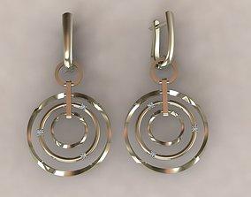 3D printable model earrings 3098