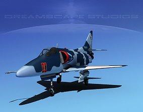 3D Douglas A-4D Skyhawk V16 USN Aggr